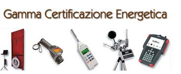 Richiesta certificazione energetica